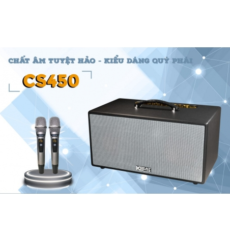 DÀN KARAOKE DI ĐỘNG KBEATBOX MINI CS450